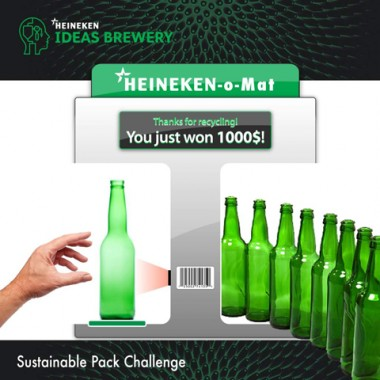 Heineken $1000 bottle